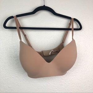 Victorias Secret nude no wire padded bra, 34DD